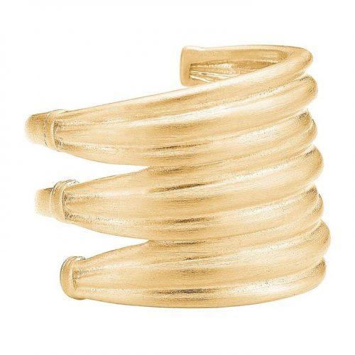 'Tribe' ring i gullforgylt sterling sølv Enamel Copenhagen - ring tribe