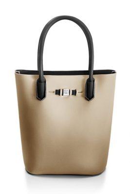 Sand 'Popstar' shopper Save my Bag - 10230N-LY-TU LYCRA MOSAICO