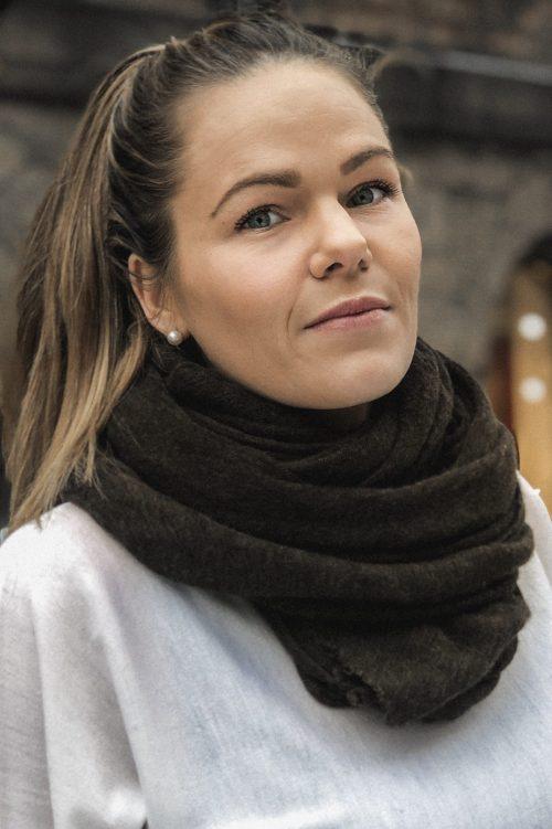 Brown 'Luxury' cashmere skjerf Natura Cashmere - Luxury medium