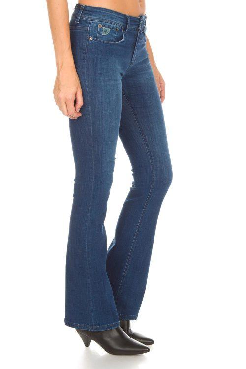 Flare 'Melrose' jeans Lois Jeans - melrose 478-5450 leia teal L32 og L34