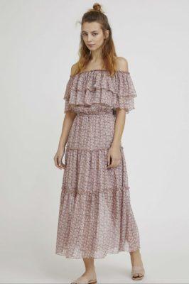 Dus lillamønstret kjole Nüd - Mimosa GL