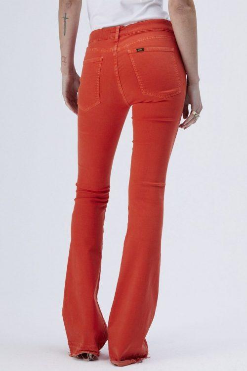 Korall flare jeans Lois - 2273-5370 Rave Meglia glow