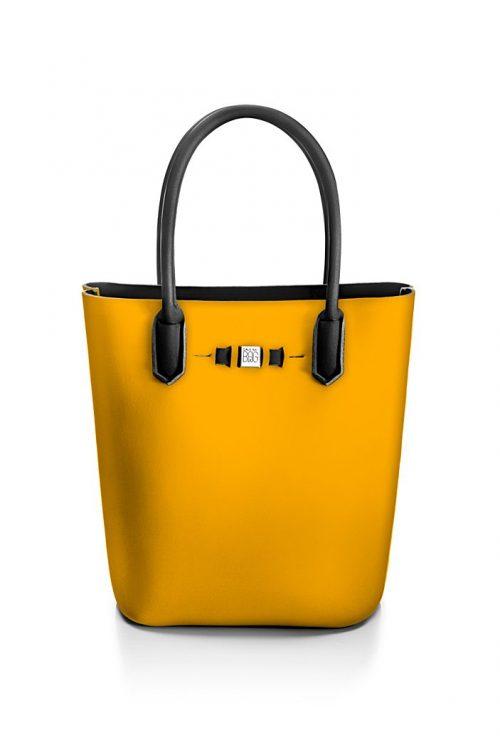 Rabat 'Popstar' shopper Save My Bag - popstar rabat yellow ocher 320x330x190 mm