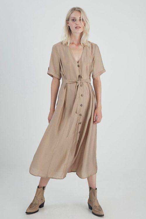 Dune kjole med knapper Gestuz - 3275 arienne gz dress