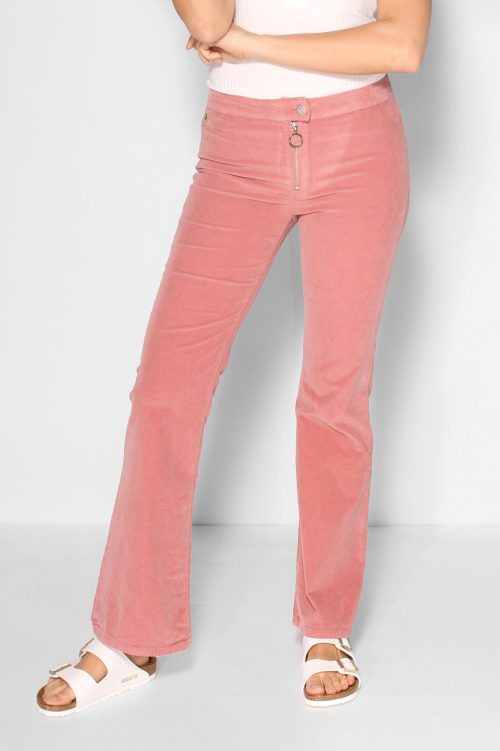 Coral almond flare microcord flare bukse Lois Jeans