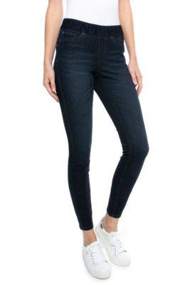 Mørk jeans 'Philia' med strikk i liv Cambio - 9125 0001-12 philia 30