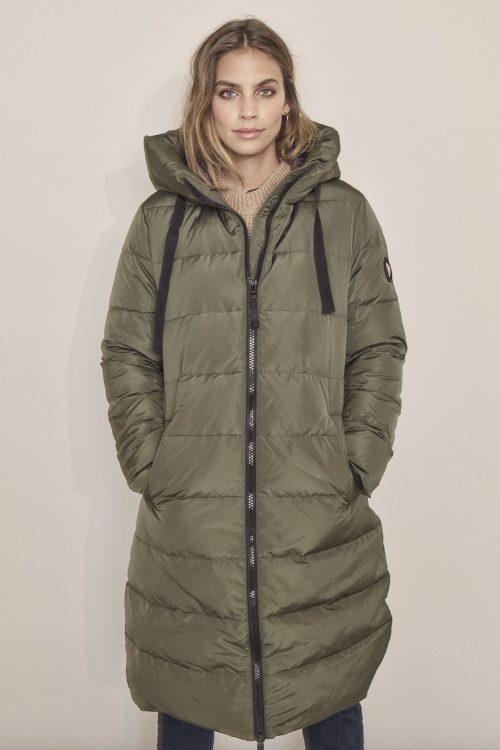 Grønn eller indigoblå boblekåpe Mos Mosh - 129610 nova down coat