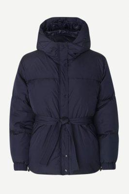Night sky boblejakke med hette Samsøe - 11109 asmine jacket