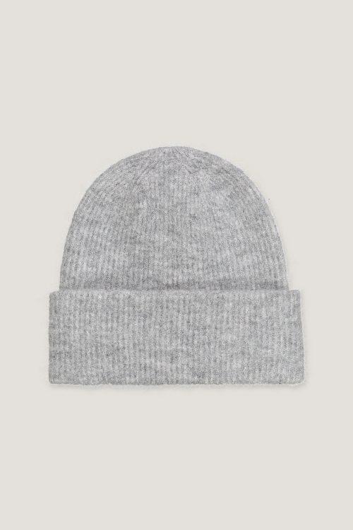 Blå, white mel, grønn, grey mel, black, dus rosa og bubble gum alpakkamix lue Samsøe - 7355 nor hat