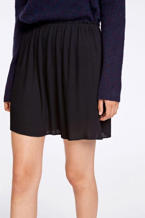 Sort plissé skjørt Samsøe - 6621 lei p skirt