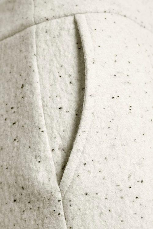 Kremspettet flanell kort skjørt Gestuz - sadie skirt 10904109