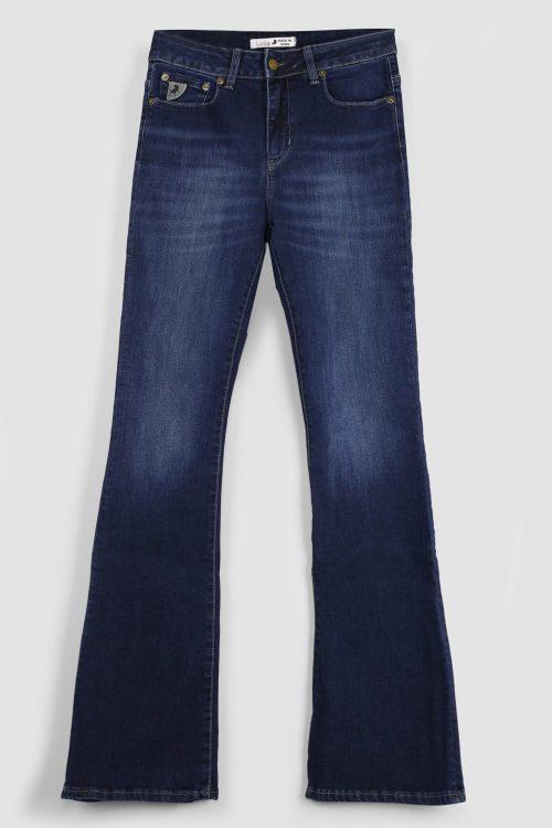 'Raval' flare jeans Lois Jeans - raval 2007-5707 marconi mist L30, L32 og L34