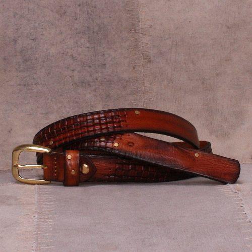 Sort eller brunt belte Bæltekompagniet - 2042-79