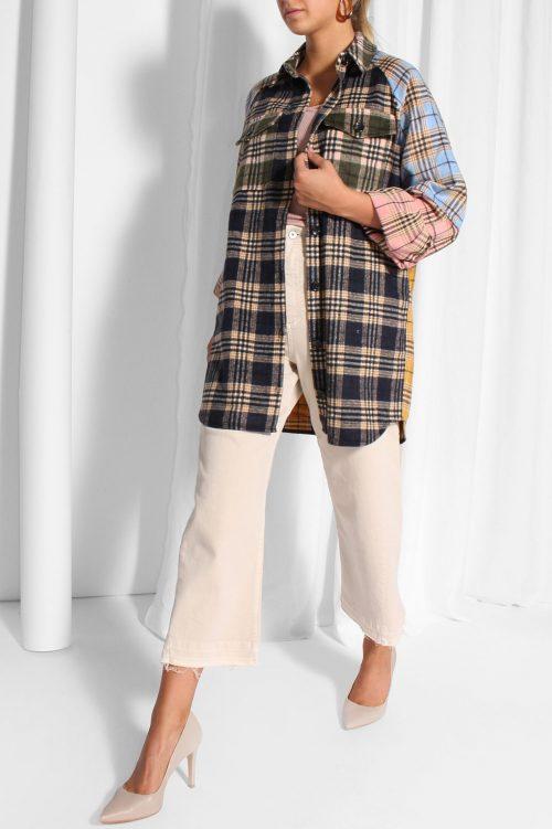Rutet storskjorte/ytterjakke Munthe - luxor 1500