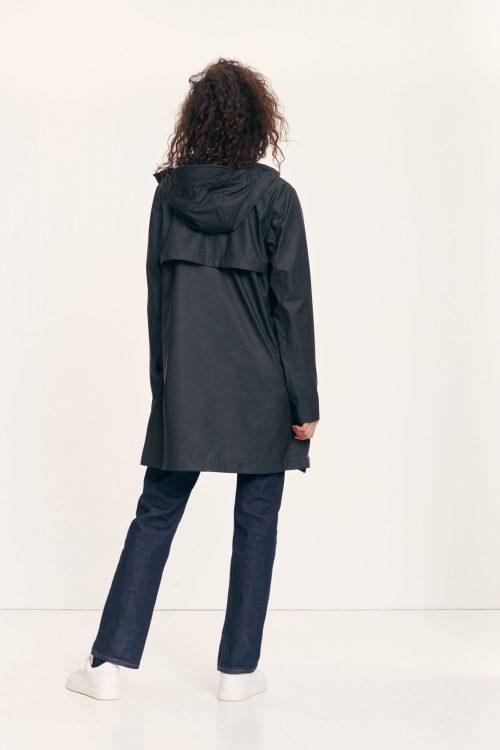 Offwhite, blå, oliven eller sort regnfrakk Samsøe - 7357 stala jacket
