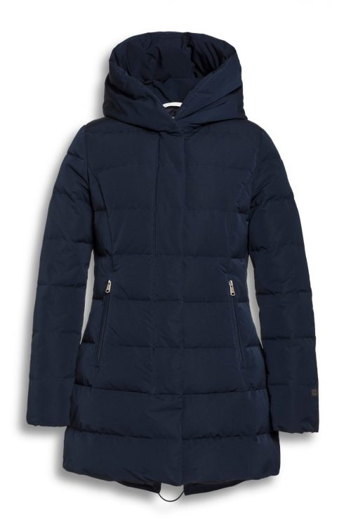 Midnight blue memory jacket med hette Beaumont - BM2230203