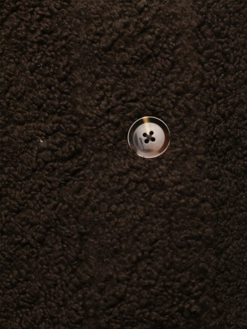 Brun teddy ytterjakke Samsøe - 12856 aylin jacket