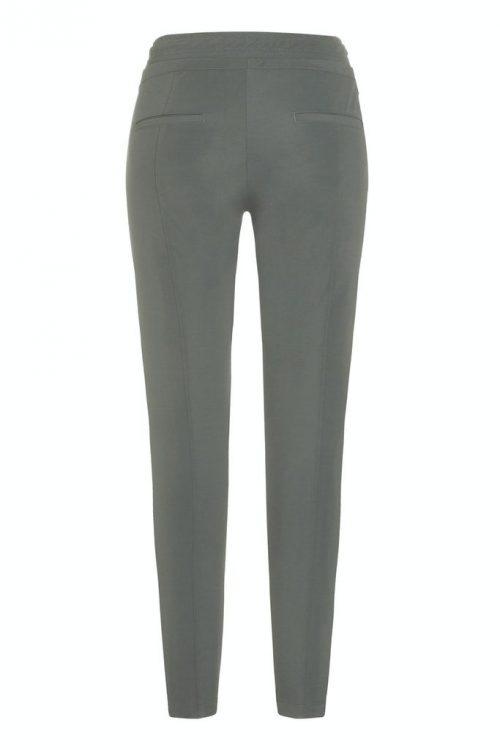 Lindegrønn eller marine trendy sporty bukse med snøring Cambio - 6320 0205-03 jorden seam 30