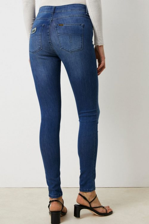 Smal supermyk jeans 'Celia' Lois Jeans - Celia leia teal L32/L34