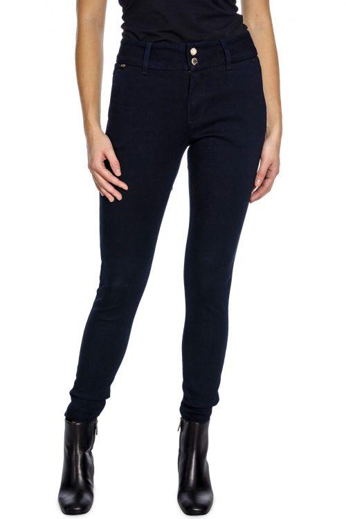 Mørk marine jeans dressbukse clean modell Mos Mosh - 134435 blake gallery pant