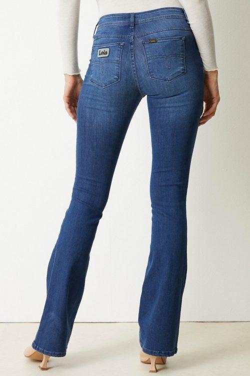 Supermyk flare jeans 'Raval' Lois Jeans - Raval leia teal L32