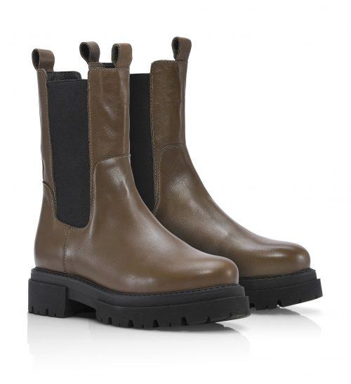 Khaki boots Shoe Biz - prima vaca alfa
