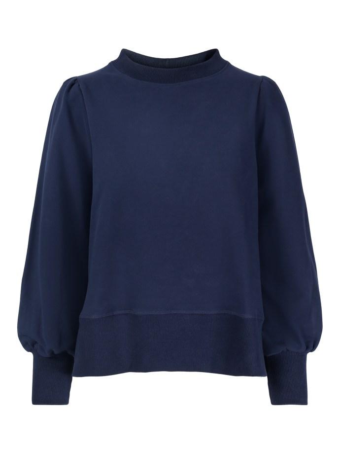 Beige eller navy collage genser Ella&Il - sarena sweater