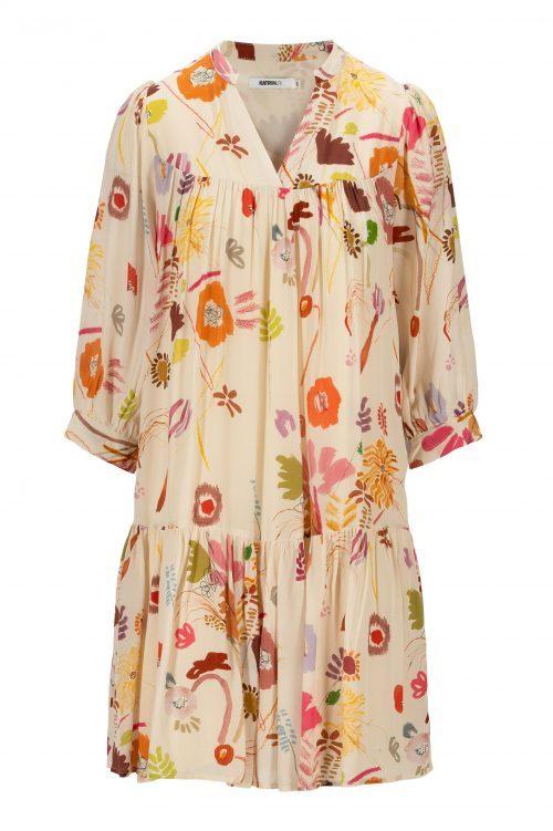 Capri viskose kjole med kappe og 3/4 erm Katrin Uri - 609 memories filippa dress