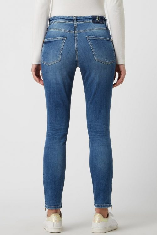 Eco summer used Parla-jeans med glidelås nederst Cambio - 9178 0094-19 parla zip 29