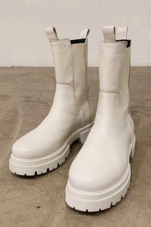 Offwhite boots Shoe Biz - prima new savage B8971-NS-white