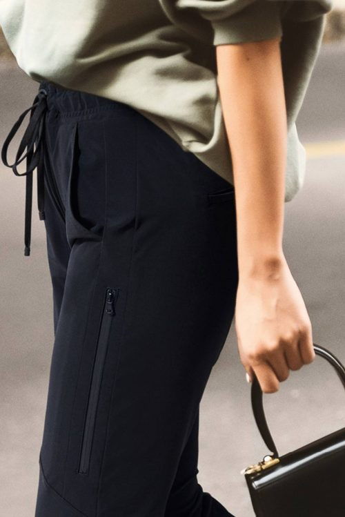 Sort trendy sweatpants Cambio - 6320 0343-01 jordan seam cropped