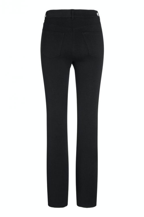 Ekstra lang sort jersey flare bukse Cambio - 6201 0212-02 fleur 34