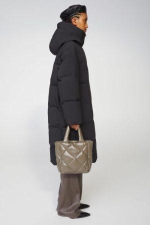 Boblekåpe med glidelås Stand Studio - 61440-8680 saylor coat crepe poly