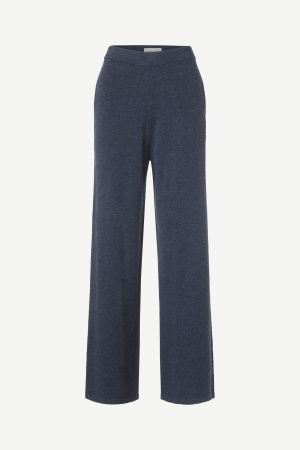 Sky captain 100% ull strikket viddebukse Samsøe - 12758 amaris trouser