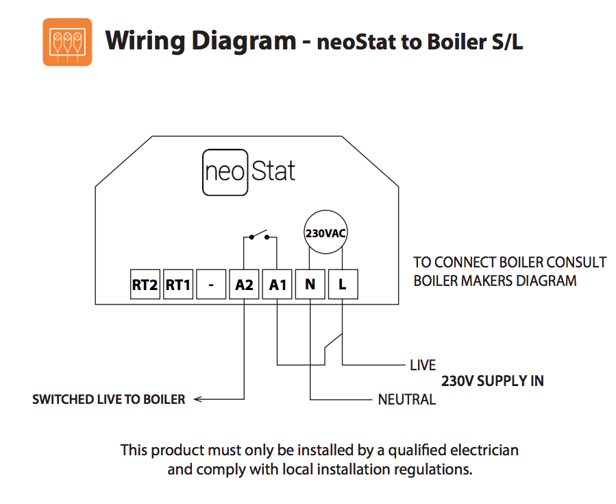 ambiente neostat wiring diagrams: