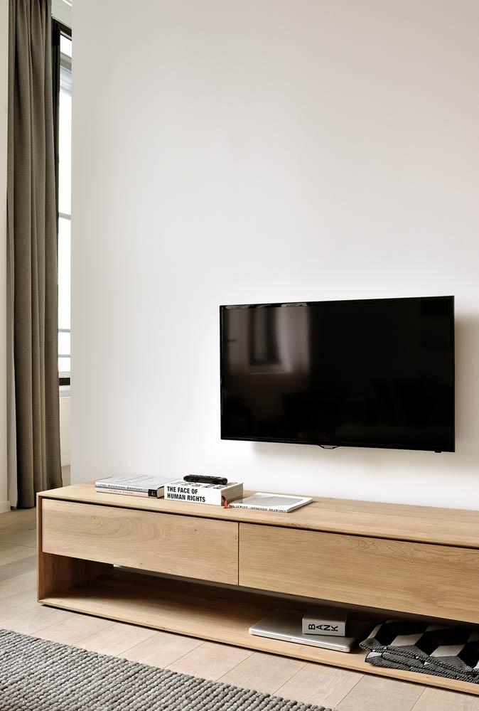 meuble tv nordic et console nordic ambihome mobilier contemporain