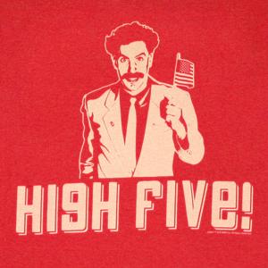 borat_high_five_red_shirt