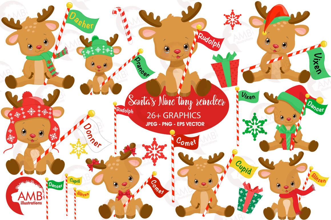Christmas Baby Reindeer