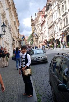 walk up to Prague castle.