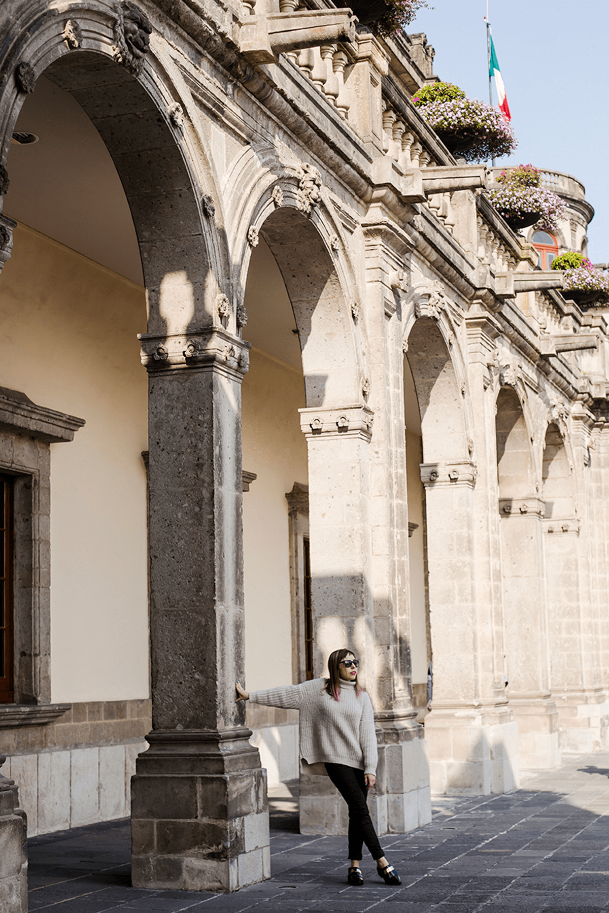 Understated Look in Mexico City