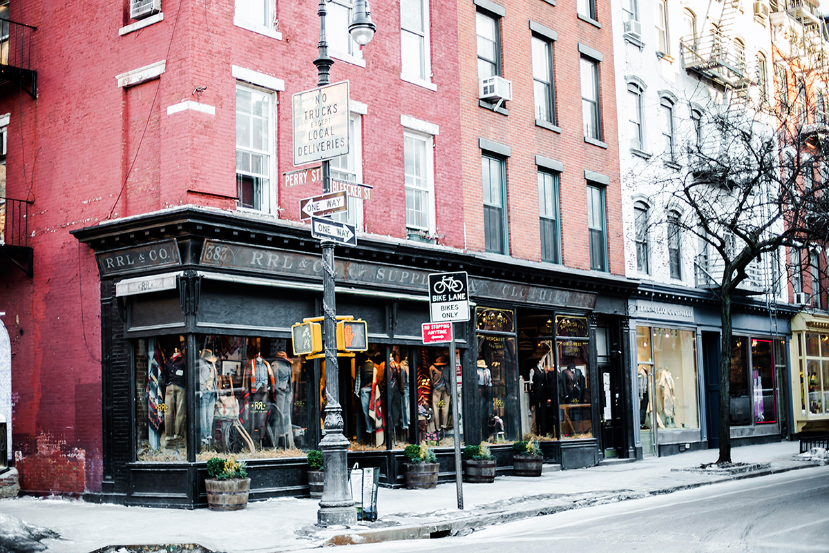 Beautiful photos of New York City February 2015 Bleeker Street