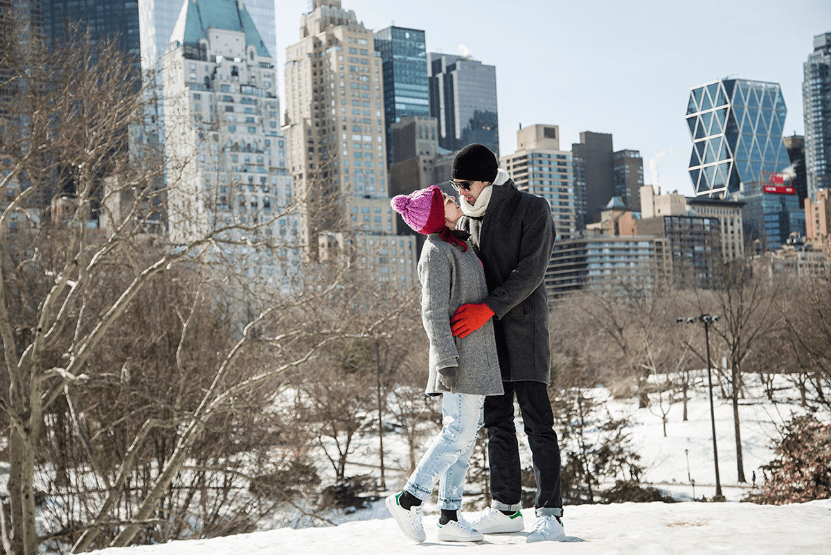 New York City february 2015 photo journal couple