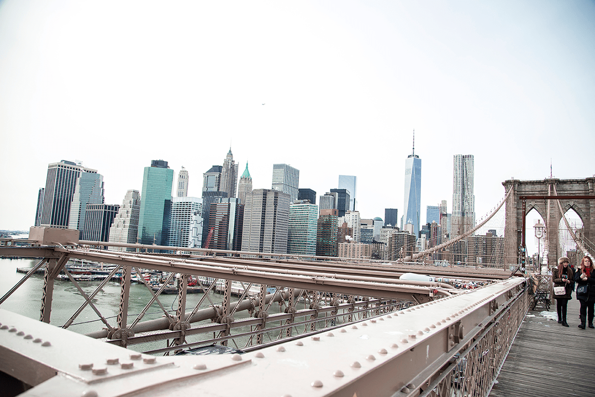 New York City february 2015 photo journal view brooklyn bridge