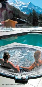 Spa Deep Nature at Le Refuge des Aiglons in Chamonix-Mont-Blanc