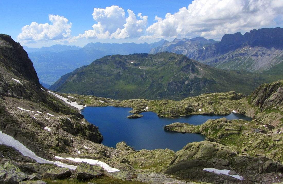 lac Cornu 2276m aiguilles rouges Chamonix-Mont-Blanc