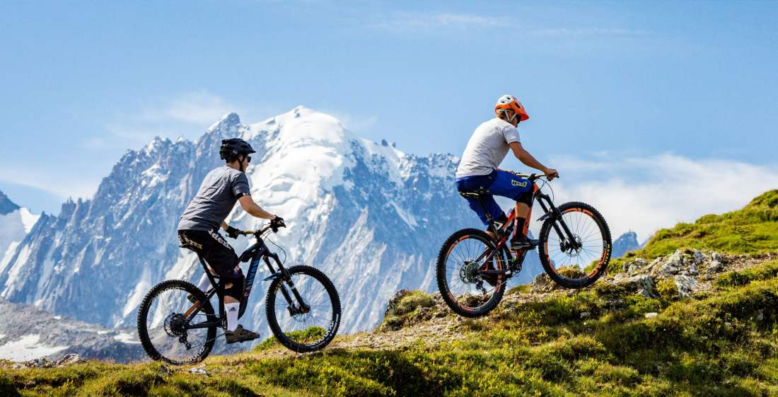 All Mountain MTB: Guided tours in Chamonix-Mont-Blanc