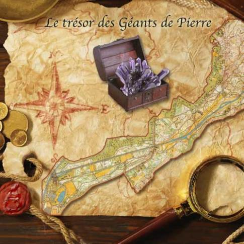 Treasure hunt: The stone giants' gemstones