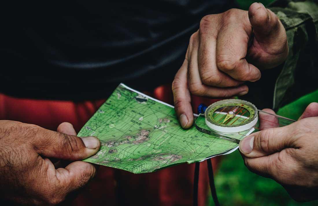 Treasure Hunt Chamonix Navigating