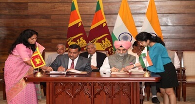 India, Sri Lanka ink MoU to establish business centre for ICT incubators in Jaffna