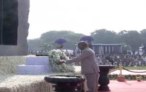 President Ram Nath Kovind pays homage to CRPF martyrs on 54th Valour Day